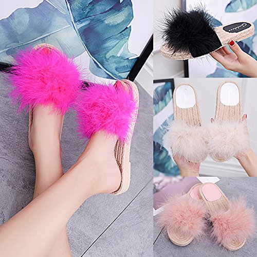 Pantofole-da-Donna-Promozioni-2018-Styledresser-Molle-Piatte-Sandali-Soffici-con-Dolce-Peluche-Pantofola-OutdoorIndoor-pantofola-flip-flop-sandalogomma