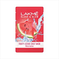 Lakmé Blush & Glow Watermelon Sheet Mask, 20 ml