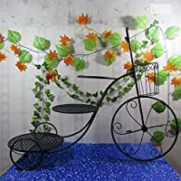 Iron flower racks Europäischen Stil Kreative Eisen Kuchen Kuchen Fahrrad Hochzeit Drei Gebäck Rack Blume Rack Trapez Rack Dessert (Farbe : SCHWARZ) preisvergleich bei kinderzimmerdekopreise.eu