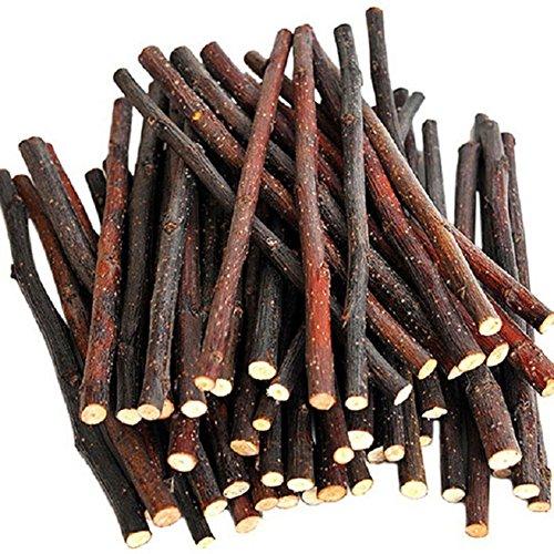 Spielzeug Holz-kaninchen (Natur Holz Kauen Sticks Zweige für kleine Haustiere Kaninchen Hamster Meerschweinchen Spielzeug)