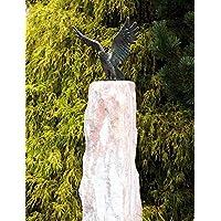 Statua in bronzo, scultura, piccola aquila su Nordic Rose