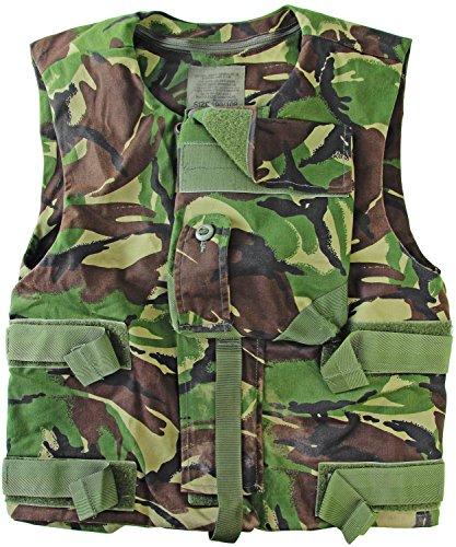 190/108 Tarnweste/Schutzweste mit vielen Taschen Camouflage