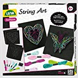 Lena 42650 String Art Kit de Bricolage Multicolore