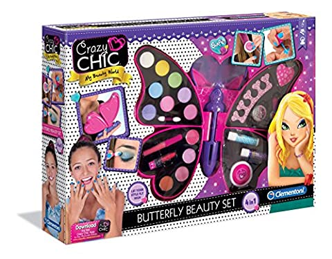 Clementoni - 15994.9 - Crazy Chic - Papillon maquillage