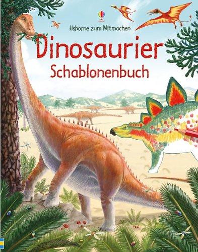 Dinosaurier Schablonenbuch