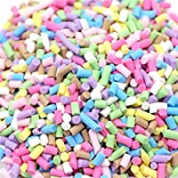 Winkey Toy for 3 4 5 6 7 8 9 + Years Old Kids Girls Boys, Colorful Styrofoam Sugar Sprinkles Decorative Slime DIY Craft For Crunchy Slime