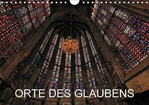 Orte des Glaubens (Wandkalender 2018 DIN A4 quer): Monatskalender, 14 Seiten, Titelfoto: Aachener Dom (Monatskalender, 14 Seiten ) (CALVENDO Glaube) [Kalender] [Apr 01, 2017] Blume, Hubertus