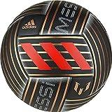 adidas Herren Messi Q1 Ball Black/Tactile Gold Metallic/Solar Red 5