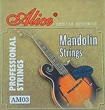 Jeu de 8 cordes pour mandoline - Neuf sous blister