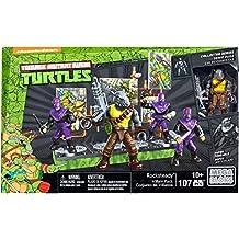 Mega Bloks - Rocksteady y su Banda de Villanos, Tortugas Ninja, Juego de construcción
