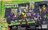 Mega Bloks Rocksteady und seine Band-Bösewichte, Ninja Turtles, Baukasten (Mattel dmw28)