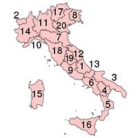 Provinzen von Italien