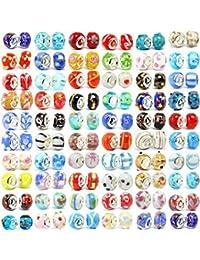 Billes en verre Buckets Of Beads - Dix billes assorties Murano
