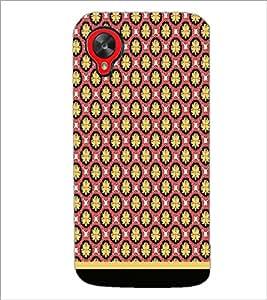 PrintDhaba Pattern D-1659 Back Case Cover for LG GOOGLE NEXUS 5 (Multi-Coloured)