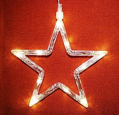 LED Fensterlicht Fensterbild Stern Weihnachtsdeko von Humbert - Lampenhans.de