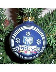 New York Yankees 2009 World Series Champions Traditional Ornement de Noël