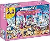 Playmobil- Calendario dell'Avvento Ballo di Natale nel Salone di Cristallo, dai 4 Anni, 9485