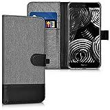 kwmobile Huawei Honor 8 Pro Hülle - Kunstleder Wallet Case für Huawei Honor 8 Pro mit Kartenfächern und Stand