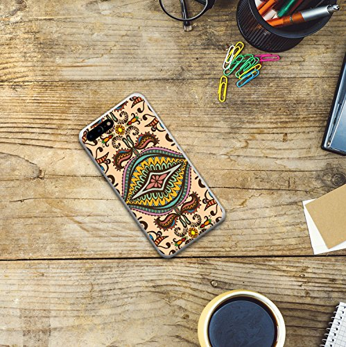 iPhone 7 Plus Hülle, WoowCase Handyhülle Silikon für [ iPhone 7 Plus ] Astronaut Gay Flagge Handytasche Handy Cover Case Schutzhülle Flexible TPU - Transparent Housse Gel iPhone 7 Plus Transparent D0236