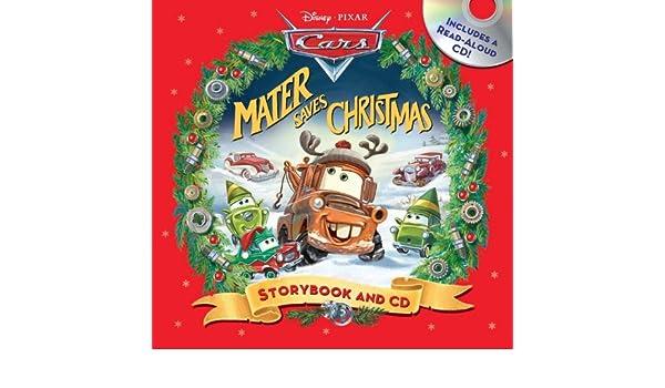 Buy Disney*Pixar Cars: Mater Saves Christmas Storybook & CD Book ...