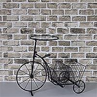Indipendente da scaffale / Desk Top Organizzazione, Creative rack facile in bicicletta a soffitto-rack detriti,assemblare dimensioni: 67*55*35cm, nero