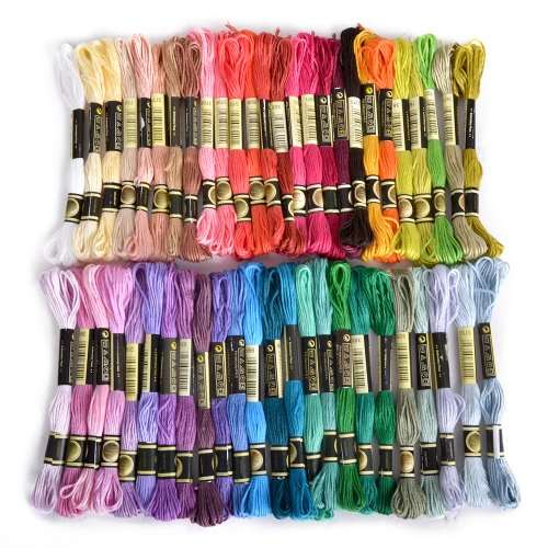 Embroidery Thread Assorted Coloured Flissy