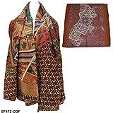 Damen Coffee-Designer Horse Pattern Kopftücher Schal