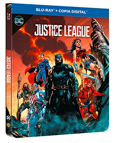 Liga De La Justicia Blu-Ray Dc Illustrated Steelbook [Blu-ray]