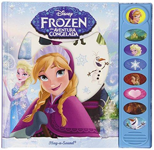 Disney Frozen. Pack de 3 Libros Leer Buscar Y Escuchar