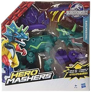 Jurassic World: Hero Mashers: Triceratops / Stegosaurus