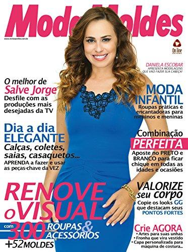 Moda Moldes 48 (Portuguese Edition) de [Editora, On Line]