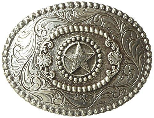 Nocona Floral Star Gürtelschnalle Western Buckle Cowboy USA