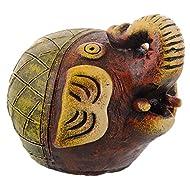 Ally Argile poterie Sculpture à suspendre Diya–Home Decor lampe/lampe de Diwali faite à la main en terre cuite fait main Unique à collectionner Home Decor