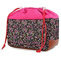 Koolertron Women Waterproof Shockproof Partition Padded Camera Bags Slr Dslr Tlr Insert Protection Case For Dslr Shot Or Flash Light Canon5d 7d 50d 60d Nikon D60 D90 (Pink)