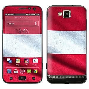 """Samsung Ativ S Designfolie """"Österreich Flagge"""" Skin Aufkleber für Ativ S (GT-I8750)"""