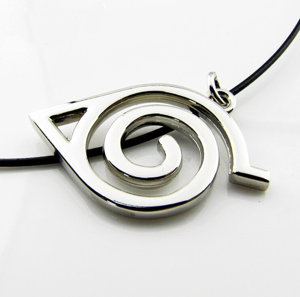 Kalendone Anime Naruto Symbol Necklace Cosplay