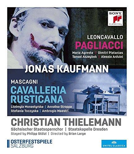 Pietro Mascagni: Cavalleria Rusticana/Ruggiero Leoncavallo: Pagliacci [Blu-ray]