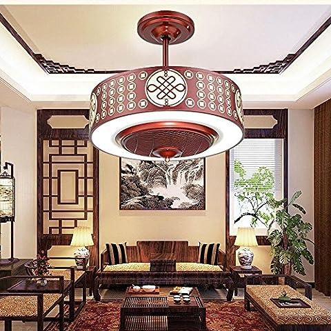 KHSKX Azione furtiva cinese soffitto ventilatore luci,