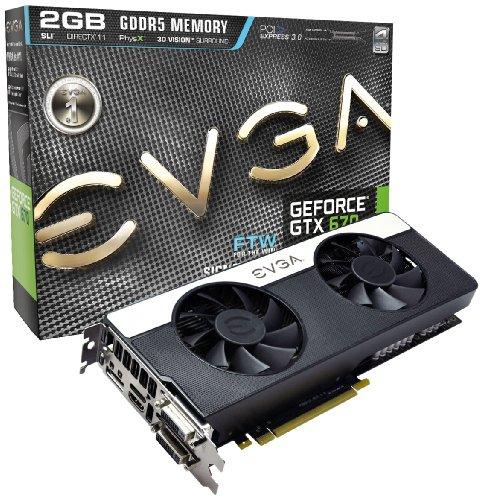 Grafikkarte EVGA GeForce GTX 670 FTW SIG2, 2048MB DDR5, PCI-Express -