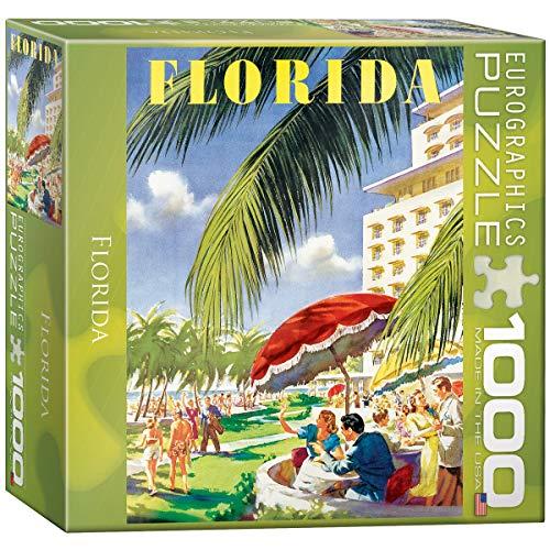 Eurographics 8 x 8 Pollici Box Florida MO Puzzle (1000 Pezzi)