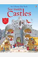 See Inside Castles (Usborne Flap Books): 1 Hardcover