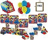 DC Super Hero Girls Party Supplies Decoración de vajilla de...