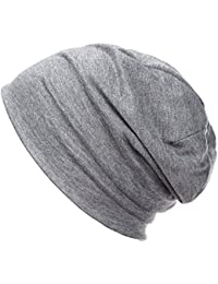 DJT A la Mode Chapeau Bonnet en Maille - unisexe / Elastique / chaud / tendre - pour Femme Homme
