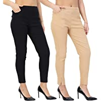 Istyle Can Women's Slim Fit Cigarette Pant