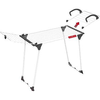 7bee5eb7ff5e33 Vileda séchoir Premium 2 en 1 - séchoir table modulable avec aile  détachable pour radiateur -