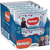 Huggies Feuchttücher Baby, sanfte Pflegetücher, Disney Frozen 2 Edition, 10er Pack (10x56 Tücher)