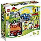Lego Duplo Briques-mes 1eres Briques - 10552 - Jeu De Construction - Set De Voitures À Construire