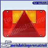 Lichtscheibe Ersatzglas Rechts für Rückleuchte Rücklicht Radex 5800 5800/13 RECHTS