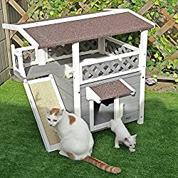 Casa para gatos exterior