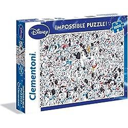 Clementoni - 393589 - Puzzle - 101 Dalmatiens - 1000 Pièces